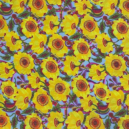 Vibrant Blooms - Yellow