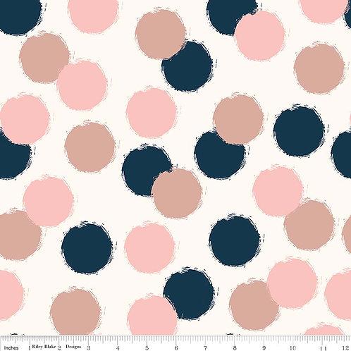 Blush Dots - Cream