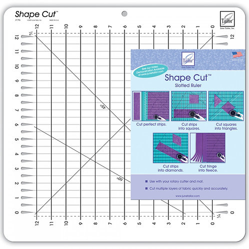June Tailor Shape Cut Plus Slotted Ruler