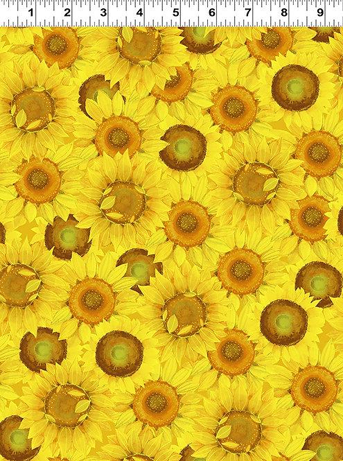 Sunny Fields - Yellow