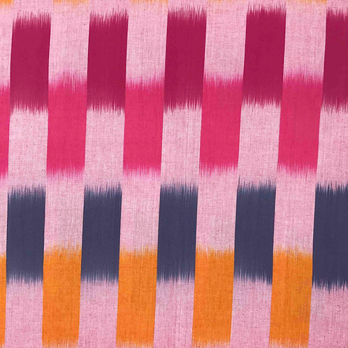 Red Ikat Stripe