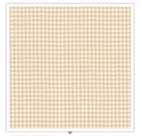 Gingham Flannel Brown