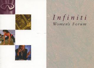 Infiniti Women's Forum circa 1990-1997