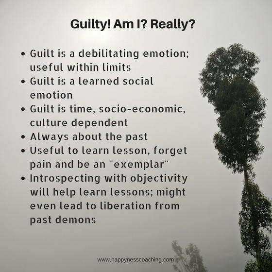 Guilty!! Am I? Really?