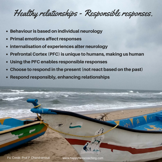 Healthy relationships: Responsible responses