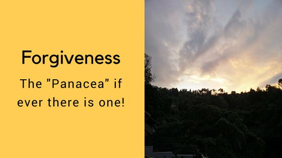 Forgiveness – the Panacea?