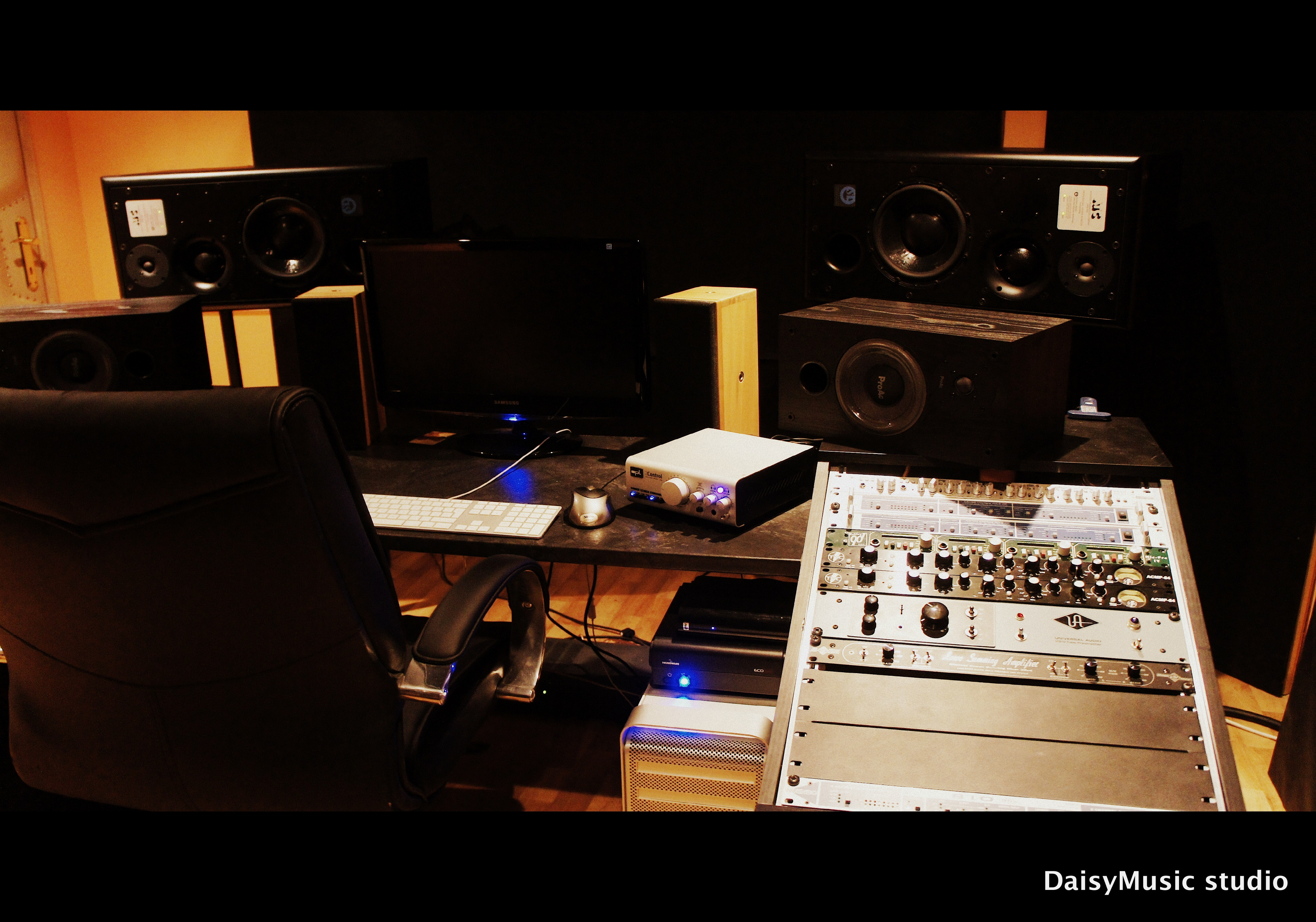 DaisyMusic glasbeni studio