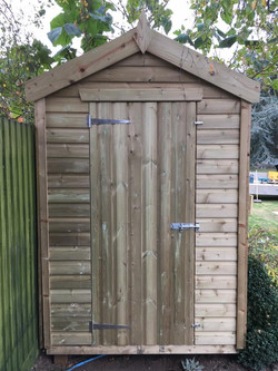 Custom Designed Shed with Apex Roof