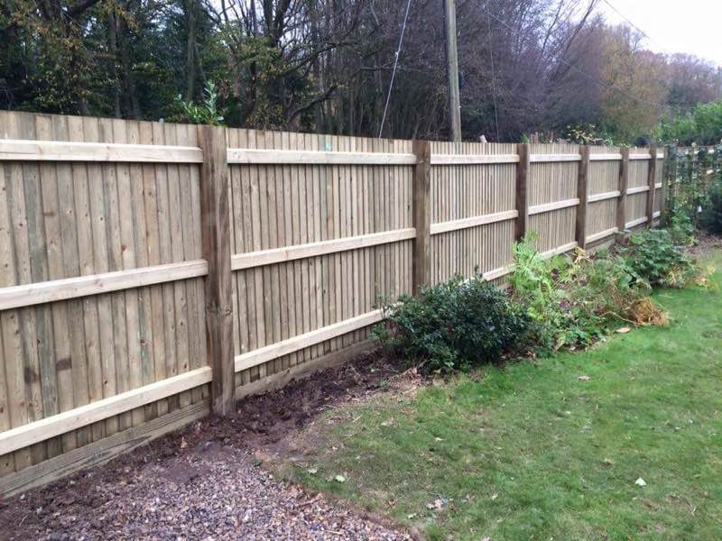 Timber Fencing Kent