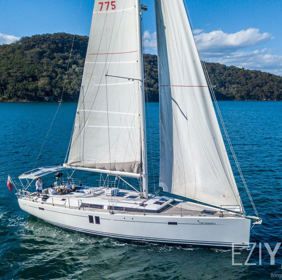 Hanse 495 'Tengeru' for sale with EziYacht
