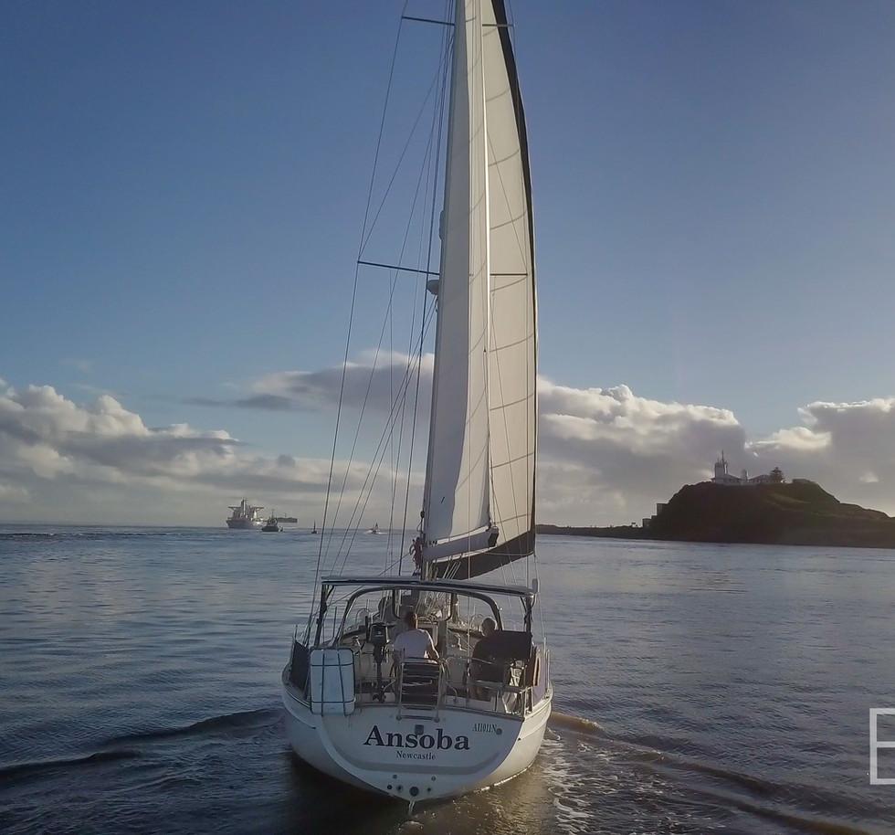 Ezi Yacht newcaste harbour vid stills (4