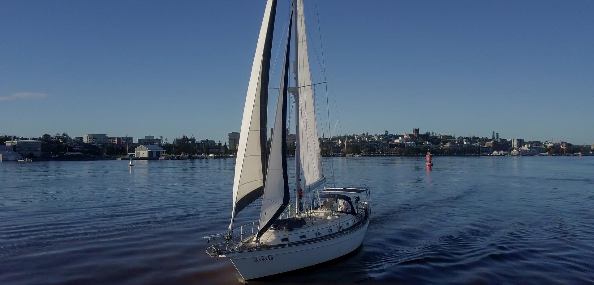 EziYacht newcaste harbour island packet 420