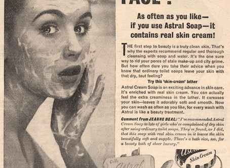 Wash your face girl!