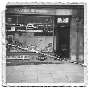 Derek Newman Hairdressing, early 1950s where John Newman Haidressing is today, Rothwell