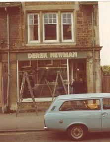 Derek Newman hair salon and barbers Rothwell, Northamptonshire