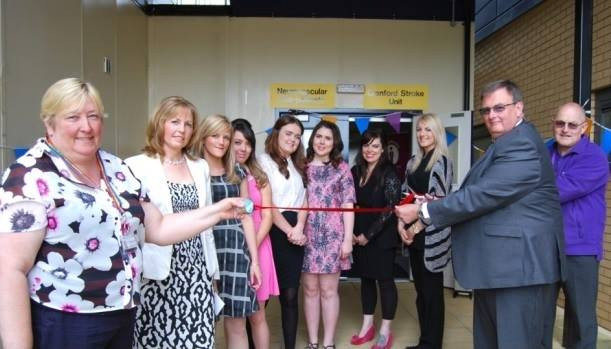 3rd June 2013: The Team opening the new Stroke Unit at Kettering General Hospital