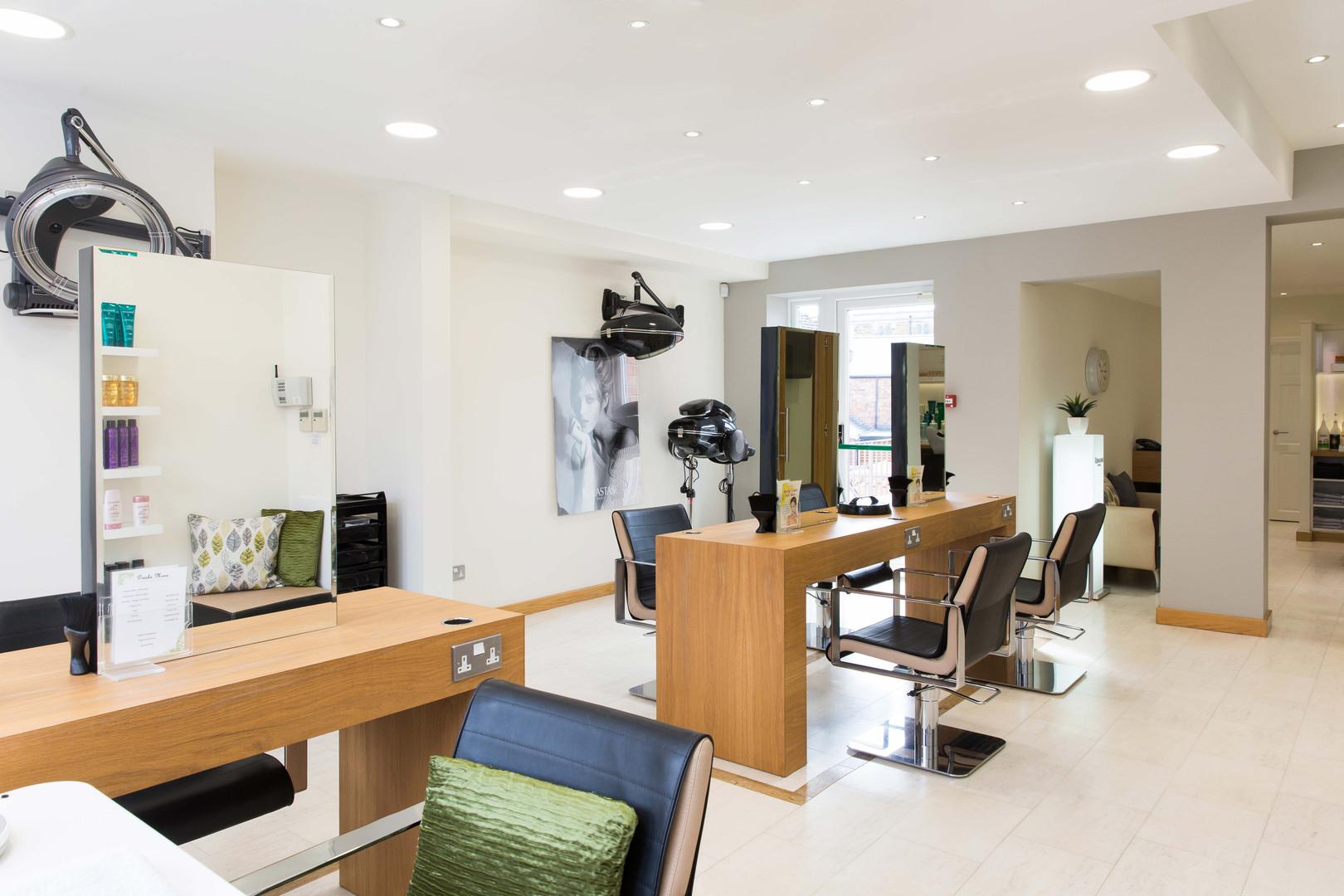 First Floor Salon & Nail Bar Area