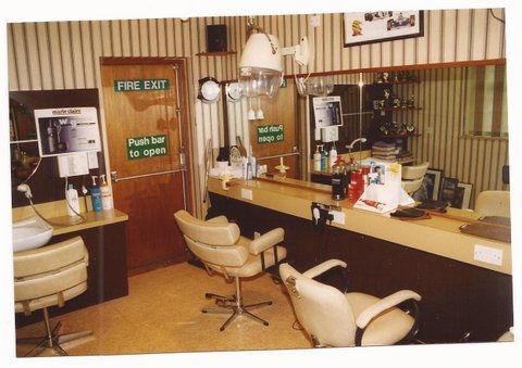 John Newman's first ladies salon in 1978, Rothwell