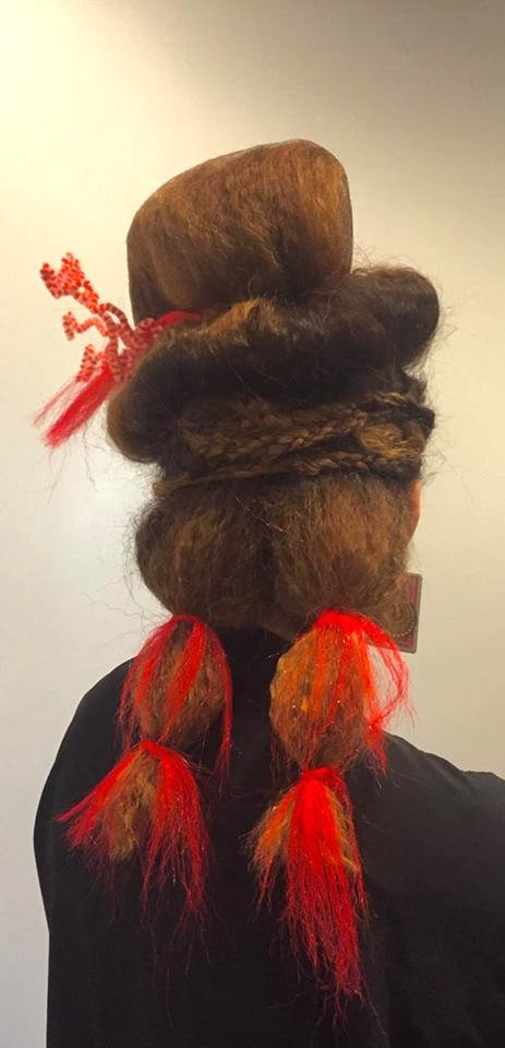 Avante Garde Hair: Mad Hatter by Natalie for her Level 3 Hair Show