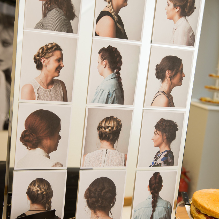 Photos of our express hair up styles