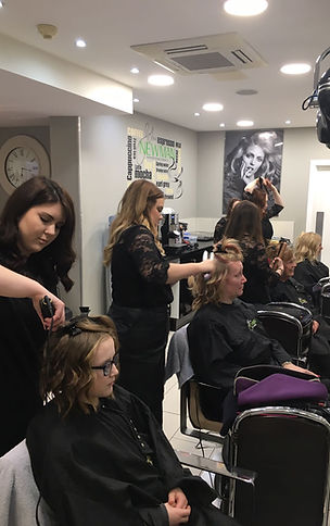 GHD Styling Session at John Newman Hairdressing & Beauty