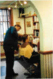 John Newman cutting hair