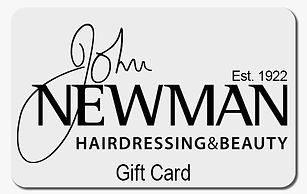 John Newman Hairdresing & Beauty gift card