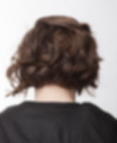 Ladies blowdry and hairstyle