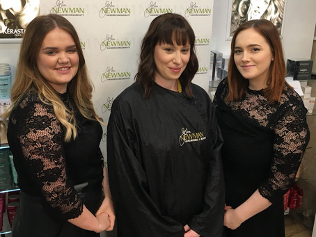 Our Latest Training Session at John Newman Hairdressing & Beauty