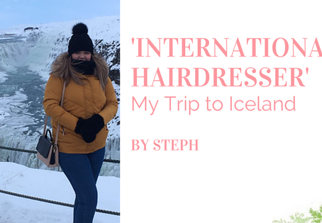 International Hairdresser: My Trip to Iceland by Steph