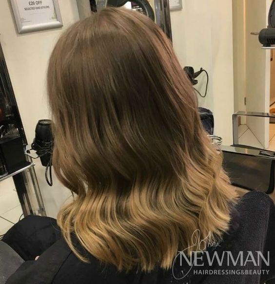 Balayage root stretch