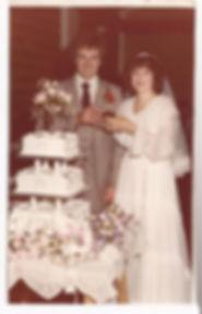 John Newman marries Shirley McDaid in 1980