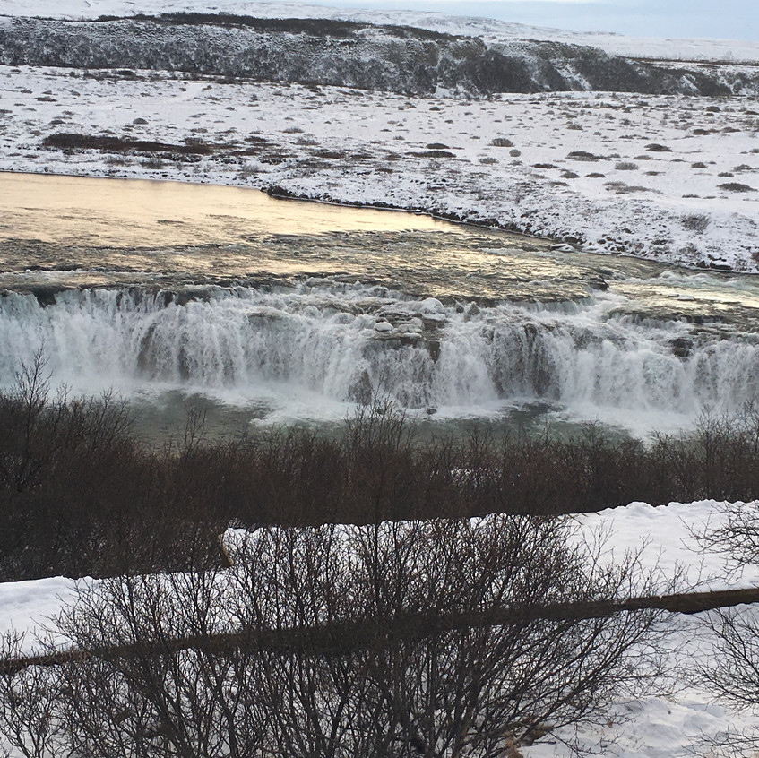 Views of other side of the waterfall