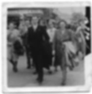 Derek Newman and Vera Wiggins in 1949, Rothwell