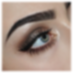 Eyebrow tint and shape