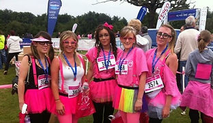 In 2012, the salon team ran the Race For Life and raised over £400