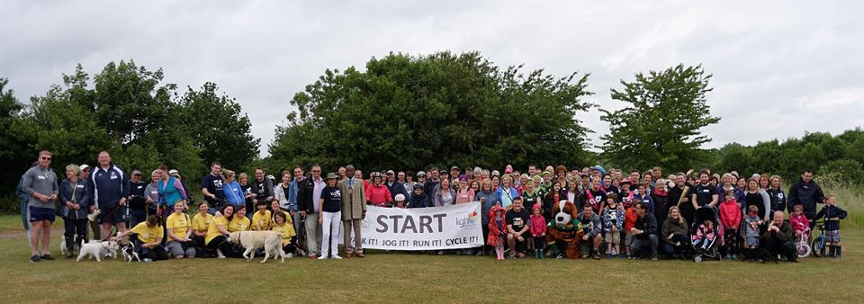 June 2015: Our 3rd 'Walk It, Jog It, Run It & Cycle It' charity event around Pitsford Reservoir, raising an incredible £9410.78!