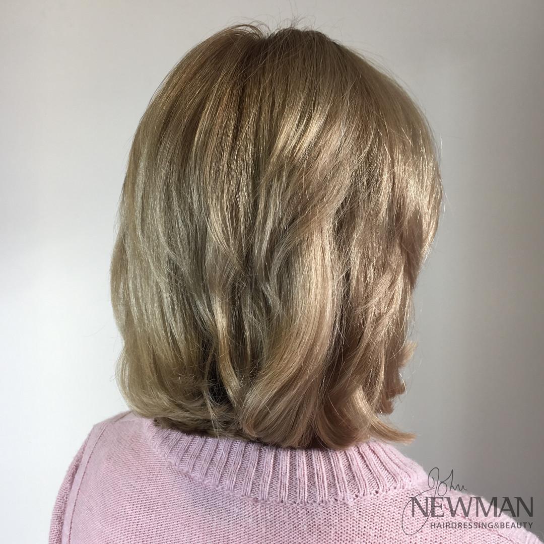 Natural golden blonde colour