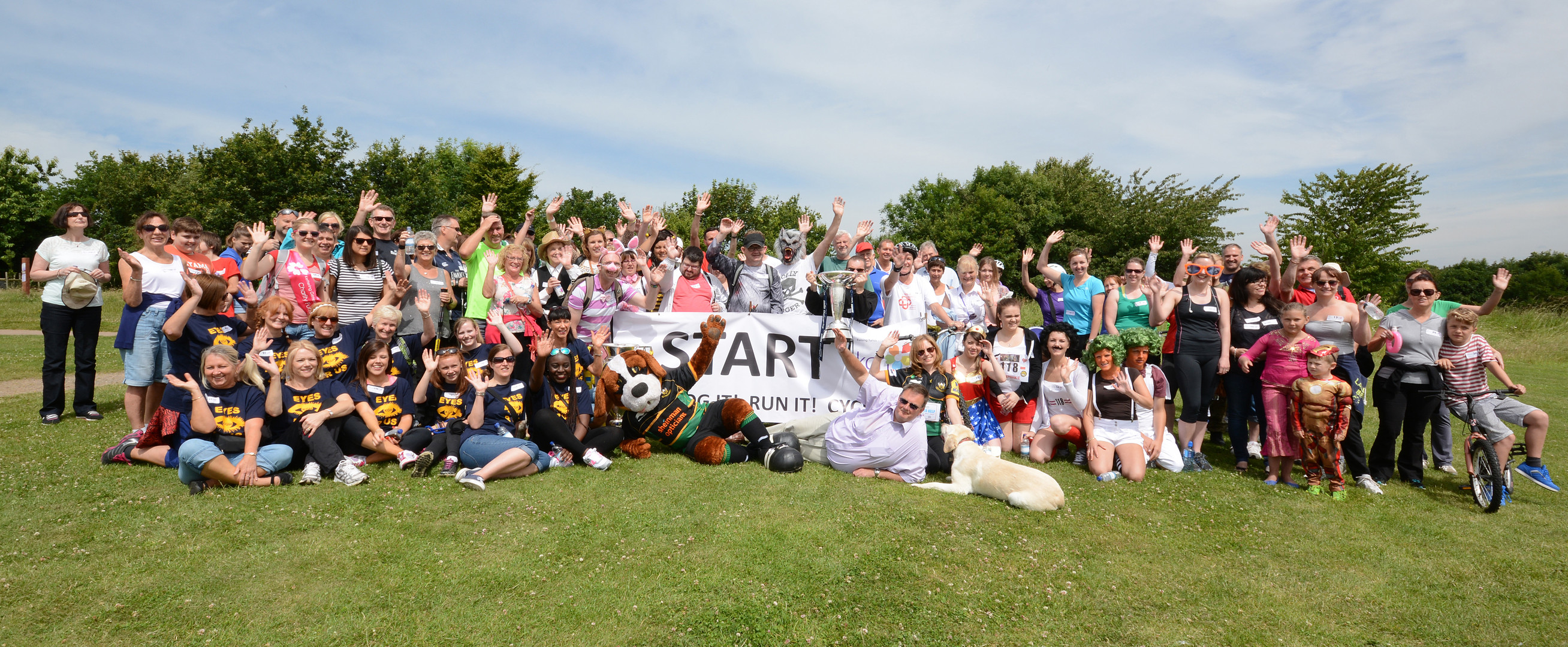 2014: Our 2nd Fun Run event at Pitsford Reservoir, Sunday 6th July 2014, raising an amazing £8241.86
