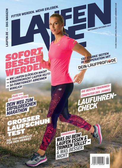 Cover LAUFEN DE