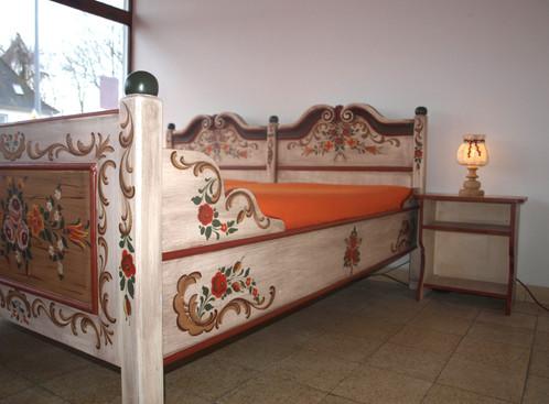 Schlafzimmer Nr 010 Voglauer Altweiss Komplett
