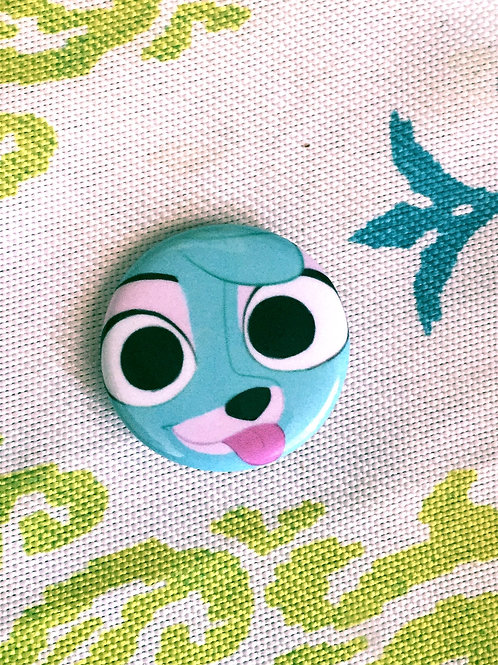 Jazzie Blep Face Pin