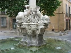 Fontaine des 4 Dauphins- Aix