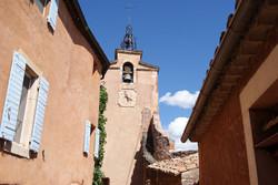 La Tour de l'horloge Roussillon