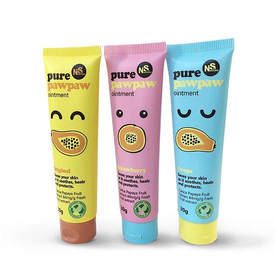 포포크림 Pawpaw Cream 30g 딸기/포도/오리지널