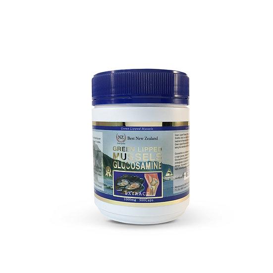 [베스트NZ] 초록홍합 글루코사민 1000mg 500정