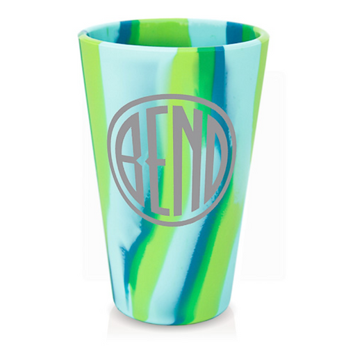 Silipints: 16 Ounce Pint Cup - Bend Logo (Assorted Colors)