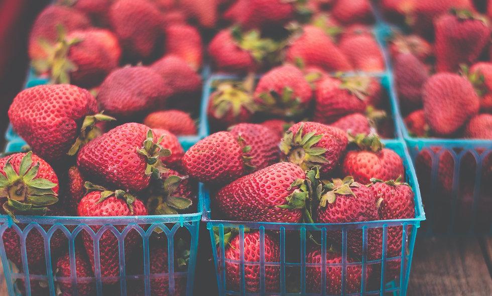 Strawberries- 1/2 Flat (6 pints)