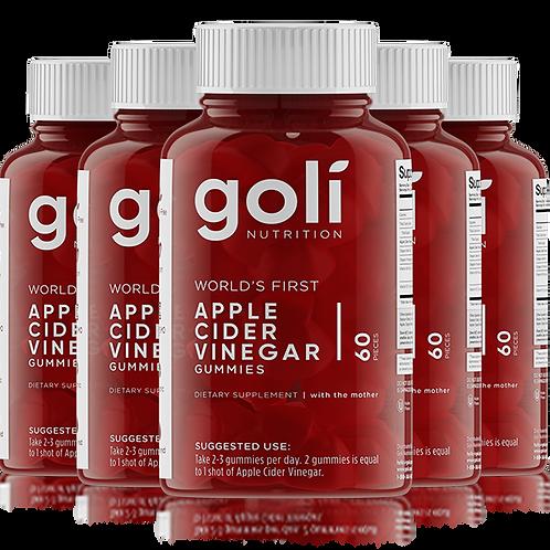 5 Bottle of Apple Cider Vinegar Gummies 5 Month Supply