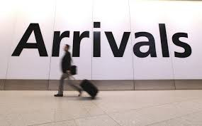 Internation tourist Air arrivals in Greece till May 2015. A report by SETE
